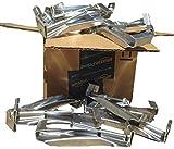 5 inch Premium Quick Screw Gutter Hanger with clip (25-pack)