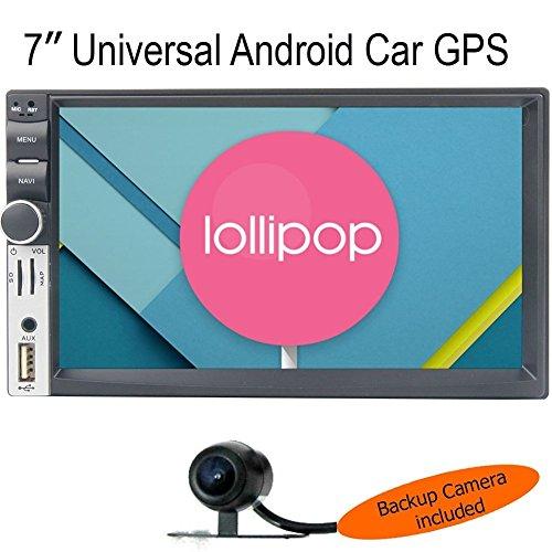 7MILE UNIVERSAL QuadCore 7 inch 2-Din Android 5.1 Lollipo...