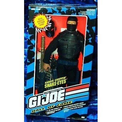 Gi Joe Hall of Fame Snake Eyes hasbro 6089