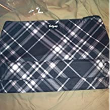 Thirty One Thermal Zipper Pouch in Black Pick Me Plaid - 4060 by Thirty-One