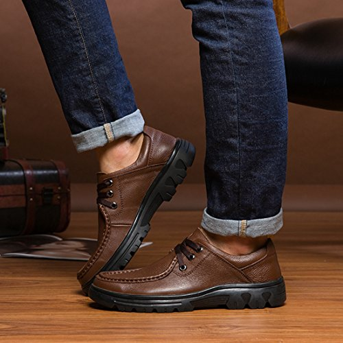 5 Marrone Sneaker LH8007A Dark Uomo Brown Minitoo 39 EU LHEU qp8Ew7xI
