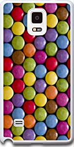 Samsung Case Dseason,Samsung Galaxy Note 4 Hard Case **NEW** High Quality Best Price Personalized Colorful chocolate beans background by icecream design