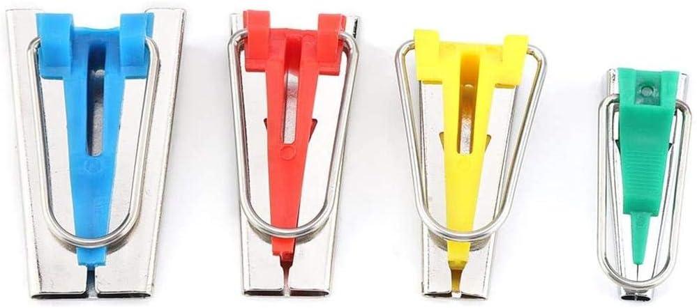 6MM 18MM 25MM Outil de Fabricant de Ruban de Biais 4 Tailles Fabricants de Ruban de Biais de Couture Bricolage 12MM Ensemble de kit doutil de Ruban de Biais