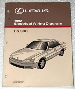 1992 lexus es300 electrical wiring diagram (vcv10 series): toyota motor  corporation: amazon com: books