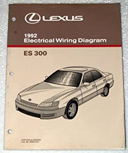 1992 lexus es300 electrical wiring diagram vcv10 series toyota rh amazon com  Lexus Rx300 Wiring Diagram