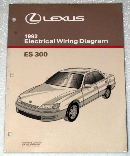 1992 lexus es300 electrical wiring diagram vcv10 series toyota rh amazon com