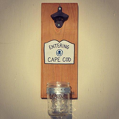 Cap Catching Bottle Opener - Entering Cape Cod - Cranberry C