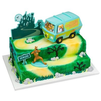 Scooby-Doo! Mystery Machine Signature Cake Decorating Kit -