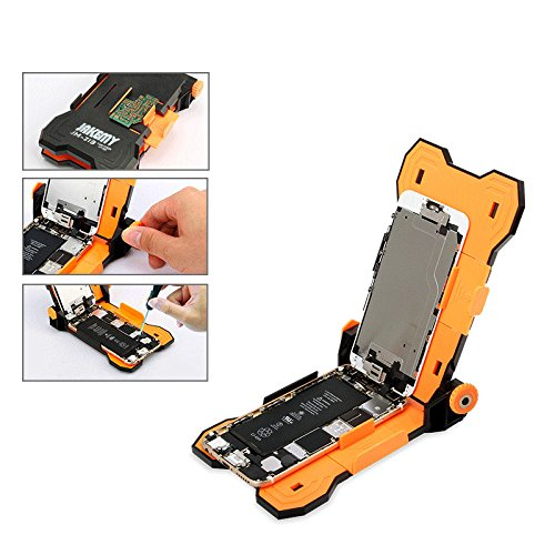 COHK Phone Screen Repair Holder, 4 in 1 Mobile Repair Tools With Screwdriver Bit for iPhone 6/6s/6s Plus and HuaWei/Samsung 4.5-5.5 Inch, PCB Circuit Board Holder