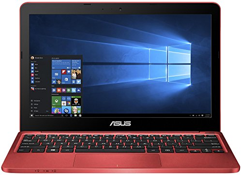 Asus F205TA-FD0064TS 29,5 cm (11,6 Zoll) Notebook (Intel Atom Z3735F, 2GB RAM, 32GB eMMC, HD Graphic, Win 10 Home) rot inkl. Office 365 Personal