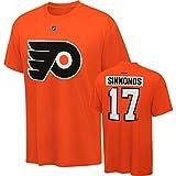 Philadelphia Flyers Wayne Simmonds Reebok Orange T Shirt