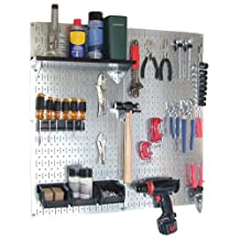 WALMP Wall Control 30-WGL-200GVB Galvanized Steel Pegboard Tool Organizer