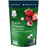GERBER Organic Yogurt Melts Red Berry,Toddler Snacks, Melts, 12+ Months, 28 g, 7 Pack
