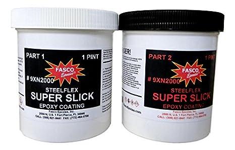 Super Slick 2000 Epoxy Bottom Coating - Airboat - Quart Kit