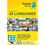 Learn Languages: Rosetta Stone Desktop Download + 24 Month Online Subscription