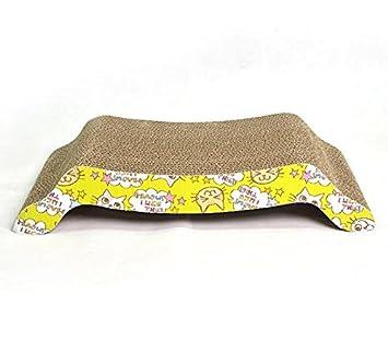 Yudanwin Arco Corrugado Gato rascador sofá Cama Gato 1 Pieza: Amazon.es: Productos para mascotas