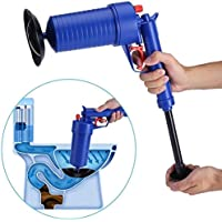 Toilet Plunger Air Drain Blaster Pressure Pump Cleaner High Pressure Plunger Cleaner Pump for Clogged Pipe