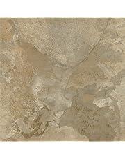 Achim Home Furnishings FTVMA44420 Nexus 12-Inch Vinyl Tile, Light Slate Marble, 20-Pack, 20 Sq Ft