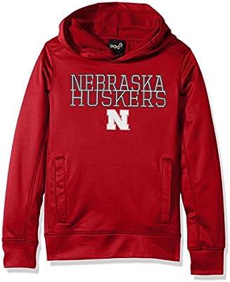 NCAA Kids Nebraska Cornhuskers Performance Hoodie Red