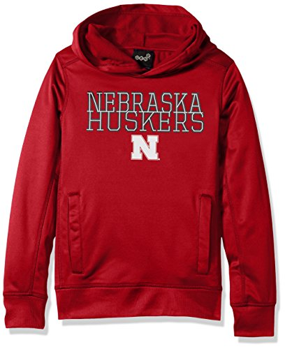 skers Youth Boys Overlap Performance Hoodie, Dark Red, Youth X-Large(18) ()