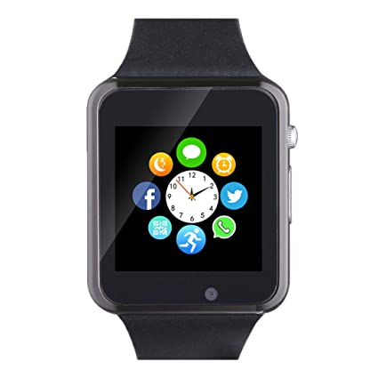 Amazon.com: Smart Watch Phone Smartwatch with SIM Card Slot ...
