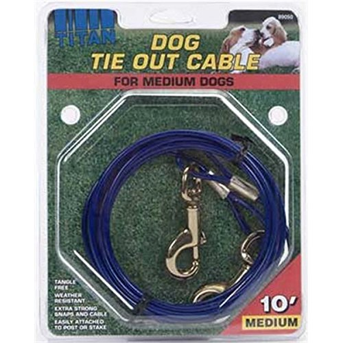 Titan Dog Tie Out Cable by Coastal Pet