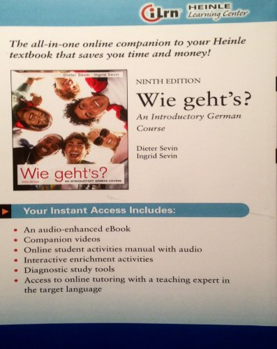 Wie Geht's? - Access Card - 9th edition