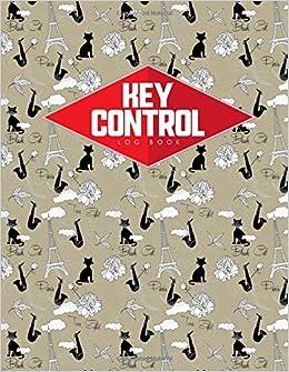 key control log book key control record book key register book