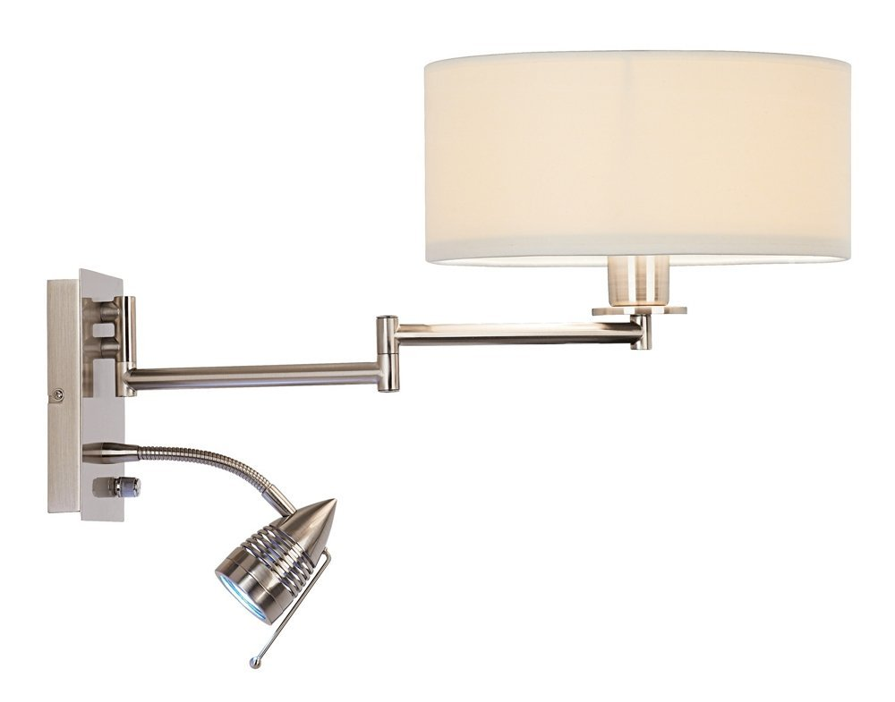 Possini Euro Tesoro LED Reading Swing Arm Wall Lamp by Possini Euro Design