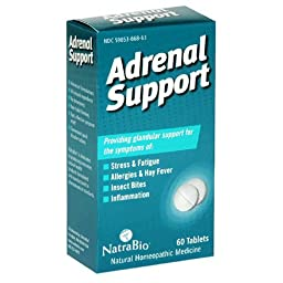 Natra-Bio Glandulars Adrenal Support 60 tablets - 3PC