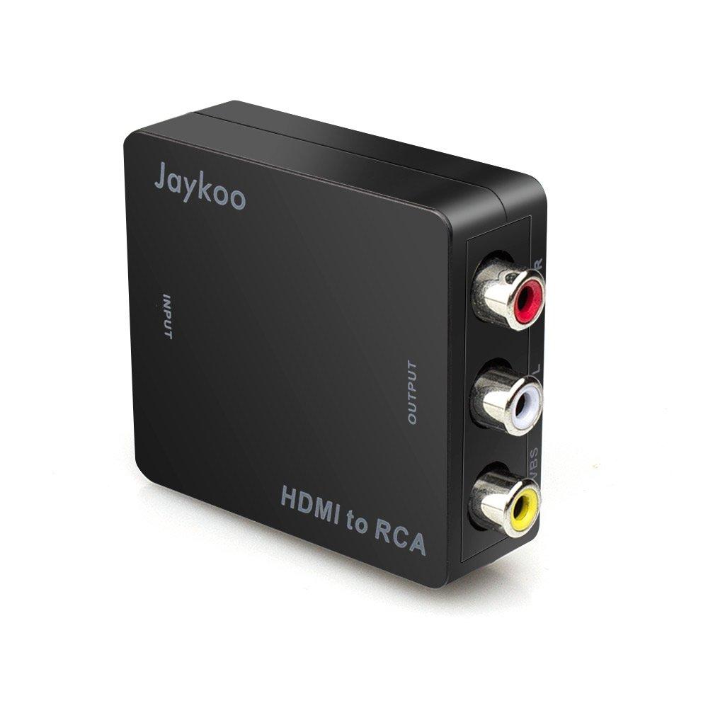 jaykoo updated hdmi to rca 1080p mini hdmi to 3rca av cvbs. Black Bedroom Furniture Sets. Home Design Ideas