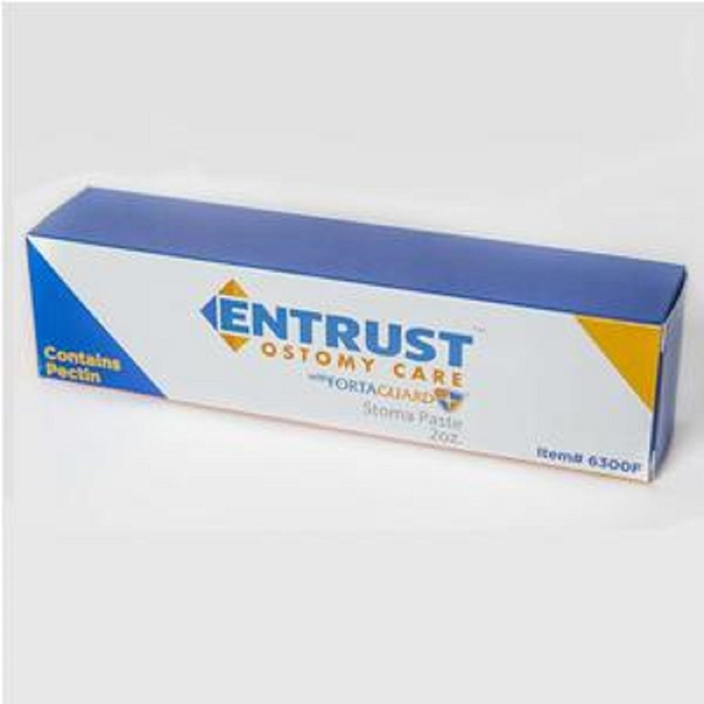 Fortis - Entrust - Stoma Paste with Fortaguard - 2 oz Tube - Latex-Free by Entrust
