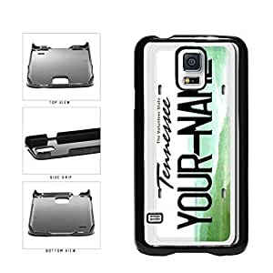 Personalized Custom Tennesse License Plate Plastic Phone Case Back Cover Samsung Galaxy S5 I9600