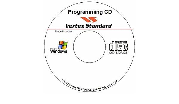Amazon com: VERTEX STANDARD CE-115 PROGRAMMING SOFTWARE VX-4500/4600