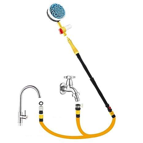 Amazon.com: Car Wash Cleaner Tools Automobiles Rotary Nozzle ...