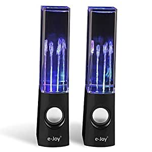 Dancing Water Show Fountain Speakers /Water Dancing Speaker/Dancing Water speaker/computer speakers/Mp3 Speakers (Black)
