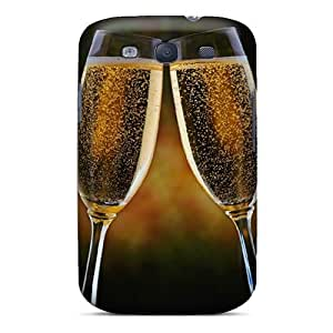 Fashion Tpu Case For Galaxy S3- Wine Toss Defender Case Cover
