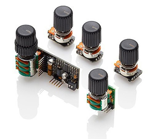 EMG BQS 5-knob Active Bass EQ System