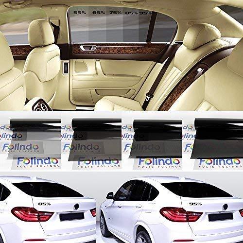 Solar Screen Profi Auto T/önungsfolie Tief Schwarz 95/% Scheibenfolie 76cm Breite Black Plus 95c Scheibent/önungs-Folie Ink ABG