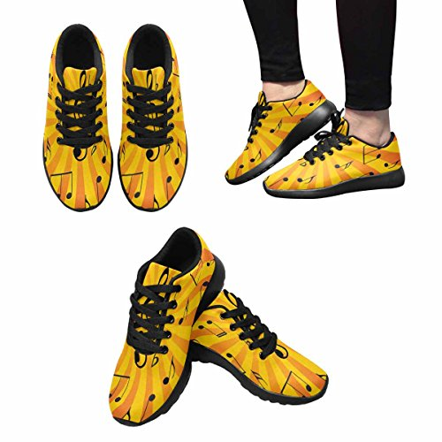 Interestprint Femmes Jogging Running Sneaker Léger Aller Facile Marche Confort Sport Chaussures De Course Multi 10