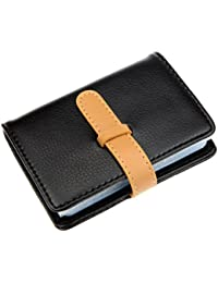 PU Leather Credit Card Holder with 26 Card Slots