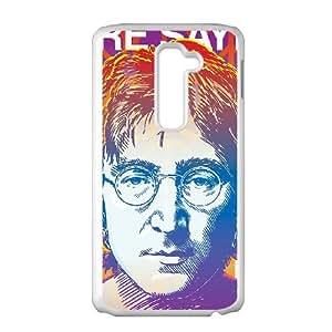 LG G2 Cell Phone Case White John Lennon SUX_933434