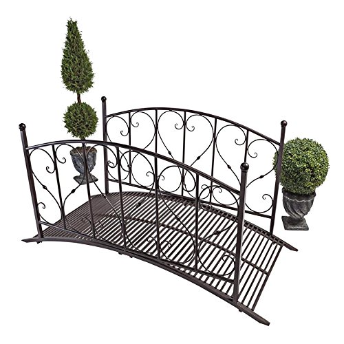 - Design Toscano Lovers Bridge Metal Garden Bridge