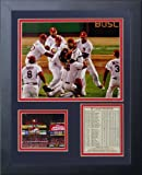 Legends Never Die 2011 St. Louis Cardinals Field Celebration Framed Photo Collage, 11x14-Inch
