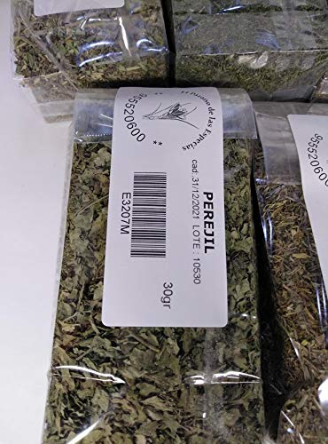 Perejil Hoja 1000 grs - Hierbas Aromáticas Natural100% 1 kg
