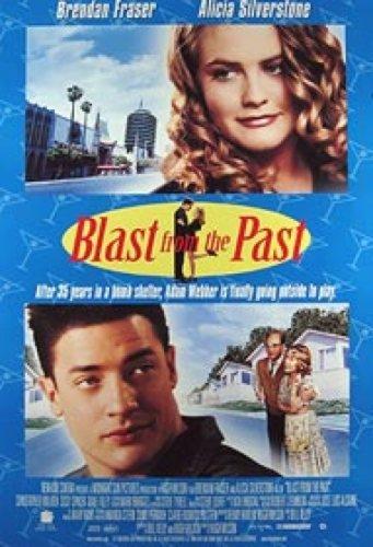 Blast From The Past Video 27X40 Brendan Frasier Poster (Blast Video)