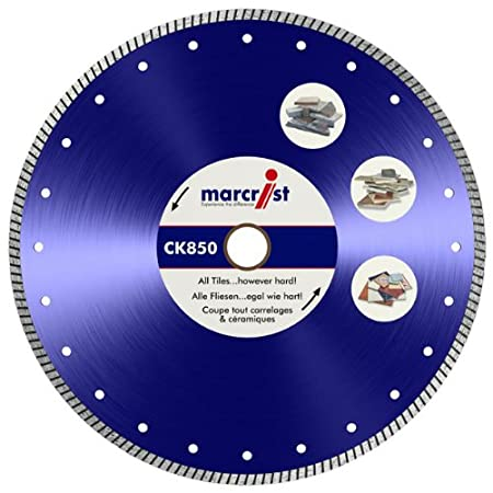 Marcrist ck850 200mm wet dry diamond tile cutting blade amazon marcrist ck850 200mm wet dry diamond tile cutting blade keyboard keysfo Gallery