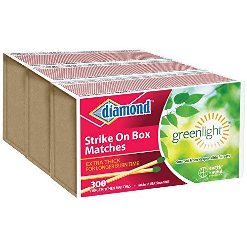 DIAMOND- STRIKE ON BOX MATCHES [3 BXS OF 300]