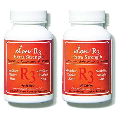 Elon R3 Extra Strength for Hair Growth -2 Pack by Elon