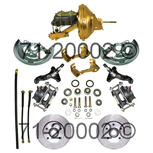 Brand New Complete Front Disc Brake Conversion Kit For GM A-Body X-Body F-Body - BuyAutoParts 71-20002N New (Front Brake Chevelle)
